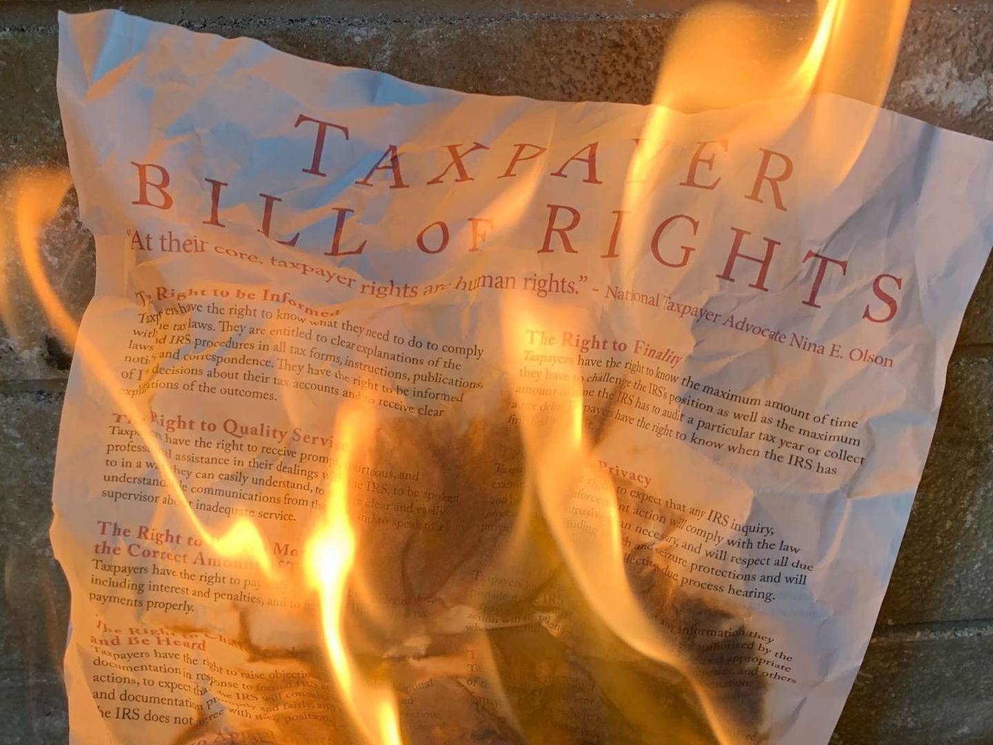 IRS Violated 'Taxpayer Bill of Rights' With 2019 Crypto Letters