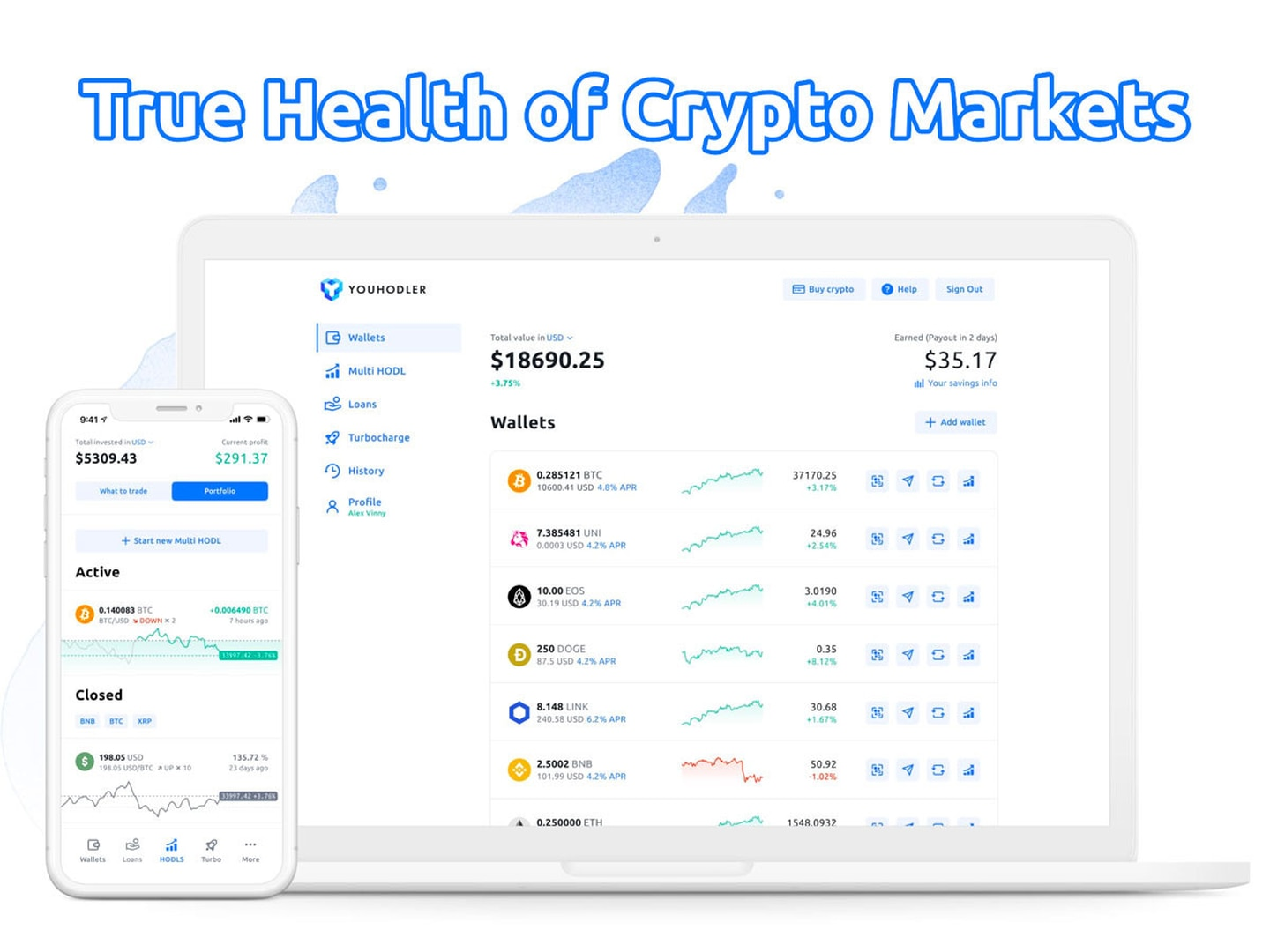 New YouHodler Data Shows True Health of Crypto Markets